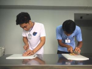 ミャンマーで塩蔵品職種の面接試験!